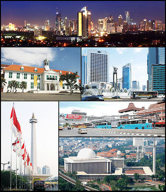 Capital of Indonesia - List of Capitals