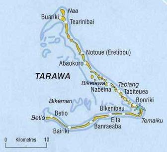 Capital of Kiribati - List of Capitals
